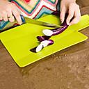 baratos Utensílios de Fruta e Vegetais-Utensílios de cozinha Plástico Gadget de Cozinha Criativa Placa de Corte Para utensílios de cozinha