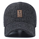 cheap Fishing Tools-Middle-aged Man's Wool Hat Winter Outdoor ear Baseball Cap