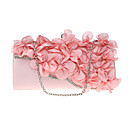 cheap Party Headpieces-Women's Bags Polyester Evening Bag Flower Navy Blue / Pinky / Amethyst