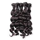 billige Hårvever med ekte hår-4 pakker Malaysisk hår Løse bølger Ubehandlet hår Menneskehår Vevet 8-26 tommers Hårvever med menneskehår Hairextensions med menneskehår