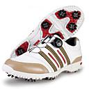 baratos Sapatos para Golf-PGM Homens Sapatos Casuais / Sapatos para Golf Borracha Golfe / Esportes Relaxantes Prova-de-Água, Ajustável, Anti-Escorregar Fibra de Carbono Preto / Khaki