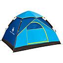 baratos Barracas & Abrigos-4 pessoas Barracas de Acampar Leves Único Automático Dome Barraca de acampamento Ao ar livre Prova-de-Água, Á Prova-de-Chuva, A Prova de Vento para Equitação / Campismo Fibra de Vidro, Oxford