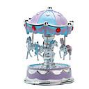 baratos Caixas de Musica-Caixa de música Carrossel / Merry Go Round Fofinho / Iluminação Plástico Estilo Europeu Crianças / Adulto / Infantil Unisexo Dom