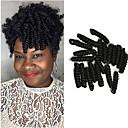 baratos Tranças de Cabelo-Cabelo para Trançar Encaracolado / Curva Bouncy / Crochê Tranças Crochet pré-laço 1pc / pacote Tranças de cabelo 100% cabelo kanekalon