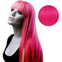baratos Extensões de Cabelo com Adesivo-Com Adesivo Extensões de cabelo humano Liso Extensões de Cabelo Natural Cabelo Humano Mulheres