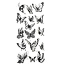 cheap Temporary Tattoos-1 pcs Tattoo Stickers Temporary Tattoos Animal Series Waterproof Body Arts Hand / Arm / Wrist