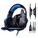 cheap Mice-Over Ear / Headband Wired Headphones Plastic Gaming Earphone HIFI / with Volume Control / with Microphone Headset