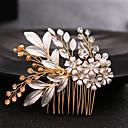 hesapli Elbise Saat-Kristal İmitasyon İnci alaşım - Saç Combs 1 Düğün Özel Anlar Dış mekan Başlık