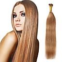 billige Parykker af ægte menneskerhår-Febay Fusion / I-tip Menneskehår Extensions Lige / Silke Ret Remy hår / Menneskehår Indisk hår