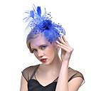 abordables Tocados de Fiesta-Mujer Acrílico Horquilla - Sombrero / Color Sólido / Malla