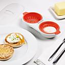 abordables Utensilios para huevos-Herramientas de cocina El plastico Cocina creativa Gadget Utensilios especiales para huevo 1pc