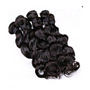 cheap Human Hair Weaves-6 Bundles Malaysian Hair Loose Wave Virgin Human Hair Natural Color Hair Weaves / Hair Bulk 8-26 inch Human Hair Weaves Human Hair Extensions Women's