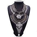 cheap Necklaces-Women's Statement Necklace - Fashion, Euramerican Gold, Black, Silver Necklace Jewelry For Party, Gift