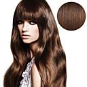preiswerte Zum Selbermachen Wanduhren-Zum Festkleben Haarverlängerungen Glatt Echthaar Haarverlängerungen Echthaar Damen