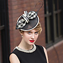 cheap Party Headpieces-Flax / Feather Hats with 1 Wedding / Special Occasion / Casual Headpiece