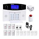 cheap Burglar Alarm Systems-Danmini Home Alarm Systems GSM Platform GSM SMS Phone Panel  Keyboard Remote Controller 433Hz