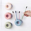 رخيصةأون حاملات فرش الأسنان-الحديث العوامة نوع البولي بروبلين جدار رف فرشاة (ألوان عشوائية)