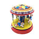 baratos Brinquedos de Corda-Brinquedos de Corda Fofinho Cavalo / Carrossel / Merry Go Round Metalic / Ferro 1pcs Peças Para Meninos Crianças Dom