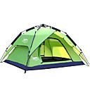 cheap Fishing Lures & Flies-DesertFox® 4 person Backpacking Tent Double Layered Automatic Dome Camping Tent Outdoor Waterproof, Rain-Proof for Camping 2000-3000 mm Oxford 180*210*118 cm