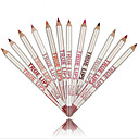 abordables delineador de labios-Bolígrafos y lapiceros Delineador de Labios Seco Gloss colorido / Natural Maquillaje Cosmético Útiles de Aseo