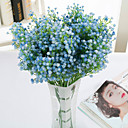 cheap Artificial Flower-Artificial Flowers 9 Branch Modern Style Baby Breath Tabletop Flower
