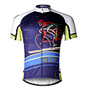 cheap Cycling Jerseys-ILPALADINO Men's Short Sleeve Cycling Jersey Skull Bike Jersey Top Breathable Quick Dry Ultraviolet Resistant Sports 100% Polyester Mountain Bike MTB Road Bike Cycling Clothing Apparel / Stretchy