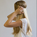 cheap Tape in Hair Extensions-Flip In Human Hair Extensions Straight Human Hair Auburn Strawberry Blonde / Light Blonde Beige Blonde /  / Bleach Blonde