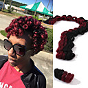 cheap Hair Braids-Braiding Hair Curly / Glamorous & Dramatic Pre-loop Crochet Braids 100% kanekalon hair Hair Braids 100% kanekalon hair