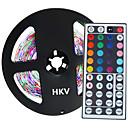 preiswerte Synthetische Perücken ohne Kappe-5m Flexible LED-Leuchtstreifen 300 LEDs 3528 SMD RGB 12 V 1pc