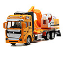 levne Toy Trucks & Construction Vehicles-Náklaďák Bagr Toy Trucks & Construction Vehicles Autíčka Litá vozidla 01:32 Kov Unisex Dětské Hračky Dárek