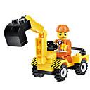 baratos Blocos de Montar-JIE STAR Carros de Brinquedo Blocos de Construir Veiculo de Construção Unisexo Para Meninos Para Meninas Brinquedos Dom