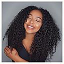 preiswerte Haarzöpfe-Unbearbeitet Spitzenfront / Ohne Klebstoff und  Spitze in der Front Perücke Brasilianisches Haar 130% Dichte Natürlicher Haaransatz / Afro-amerikanische Perücke Damen Kurz Echthaar Perücken mit Spitze