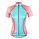 cheap Cycling Jerseys-ILPALADINO Women's Short Sleeve Cycling Jersey Fashion Bike Jersey Top, Quick Dry Ultraviolet Resistant Reflective Strips 100% Polyester / Stretchy / Sweat-wicking