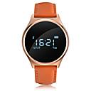 baratos Smartwatches-Pulseira inteligente YYM7 para Android iOS Bluetooth Esportivo Impermeável Monitor de Batimento Cardíaco Medição de Pressão Sanguínea Tela de toque Temporizador Cronómetro Monitor de Atividade