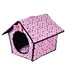 baratos Camas & Cobertores para Cães-Cachorro Camas Animais de Estimação Capachos e Alcochoadas Coração Quente Macio Fúcsia Azul Rosa claro Para animais de estimação