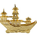 cheap 3D Puzzles-3D Puzzle Metal Puzzle Model Building Kit Ship Chinese Ancient Ship Fun Metal Alloy Classic Kid's Unisex Toy Gift