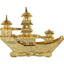 abordables Puzles 3D-Puzzles 3D Puzzles de Metal Juguetes de construcción Barco Barco antiguo chino Divertido Aleación de Metal Clásico Niños Unisex Juguet Regalo