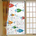 preiswerte Fensterfolie & Aufkleber-Tier Moderne Fenster-Aufkleber, PVC/Vinyl Stoff Fensterdekoration Esszimmer Schlafzimmer Büro Kinderzimmer Wohnzimmer Badezimmer Shop /