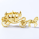 cheap 3D Puzzles-3D Puzzle Metal Puzzle Carriage Fun Metal Alloy Classic Kid's Unisex Toy Gift