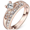 cheap Rings-Women's Couple Rings / Ring - Basic One Size / 19 Rose Gold For Special Occasion / Birthday / Congratulations