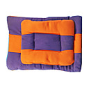 cheap Dog Beds & Blankets-Keep Warm / Double-Sided / Soft / Durable Dog Clothes Bed Color Block Orange / Purple Dog
