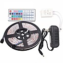 cheap Night Lights-Led Strip Lights Kit  Waterproof 5050 5M 150leds RGB 30leds/m with 44key Ir Controller and 3A Power Supply