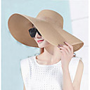 cheap Smartwatch Accessories-Women's Holiday Sun Hat - Solid Colored Pure Color