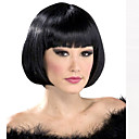 cheap Synthetic Capless Wigs-Synthetic Wig Straight Style Bob Capless Wig Black Natural Black Synthetic Hair Women's Black Wig Short Natural Wigs
