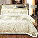 preiswerte Wand-Sticker-Bettbezug-Sets Luxus Seide / Baumwolle Reaktivdruck 4 StückBedding Sets / 400 / 4-teilig (1 Bettbezug, 1 Bettlaken, 2 Kissenbezüge)