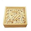 رخيصةأون متاهات و تركيب-متاهة خشبية ألعاب الطاولة كرات متاهة خشب قطع للجنسين للبالغين هدية