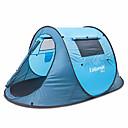 preiswerte Trinken & Filtern-1 Person Draussen Zelte für Rucksackreisen Wasserdicht Regendicht Feuchtigkeitsundurchlässig Automatisch Dom Einzimmer Doppellagig <1000 mm Camping Zelt zum Camping Draußen Drinnen