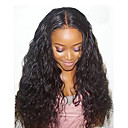 cheap Human Hair Wigs-Remy Human Hair Glueless Lace Front Lace Front Wig Brazilian Hair Loose Wave Wig 130% 150% Density with Baby Hair Natural Hairline African American Wig 100% Hand Tied Women's Short Medium Length Long