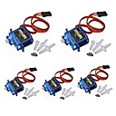 cheap Bathtub Faucets-5x Pcs SG90 Micro Servo Motor 9G RC Robot Helicopter Airplane Boat Controls