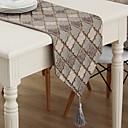 ieftine Tăblițe masă-Contemporan Amestec Bumbac Fețe de masă Imprimare Model Decoratiuni de tabla 1 pcs